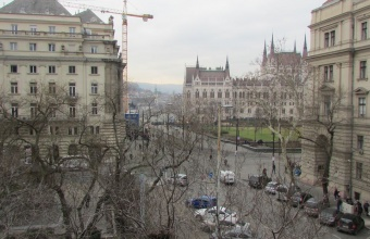 View to the Parlament