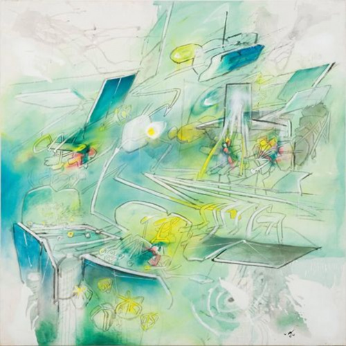 Roberto Matta - Infancy of Concentration