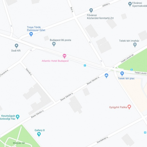 Budapest VIII. kerület Bauer Sándor utcában új, társasház projekt, építési telekkel együtt eladó!