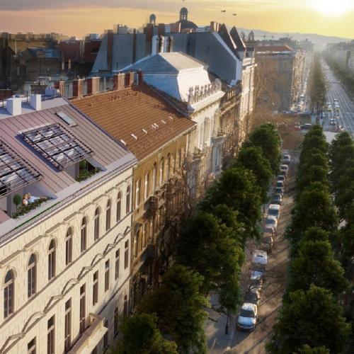 Exkluzív apartmanok Budapest szívében az Andrássy úton