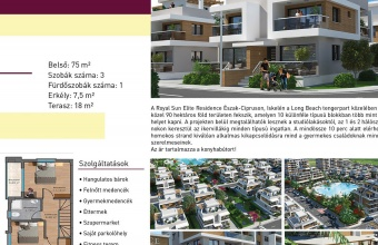 Elite Residence in North Cyprus near the beach