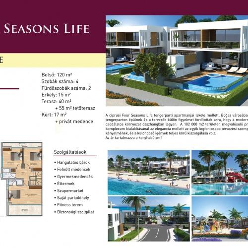 Ciprusi Four Seasons Life Apartmanok